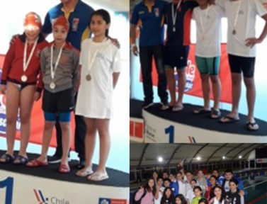 2º Lugar en Campeonato de Natación Copa Soprole 2019 en La Serena