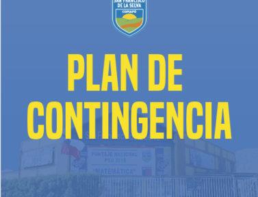 Plan de Contingencia ante situaciones eventuales.